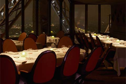 Restaurant Le Jules Verne In Paris France