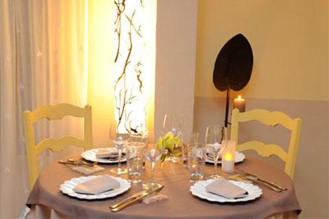 Restaurant la table du verger in orange france - La table du comtat seguret 84 ...